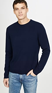 FRAME Long Sleeve Crew Neck Sweater