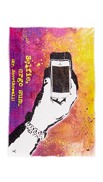 Franco Ferrari Selfie Cellphone Scarf