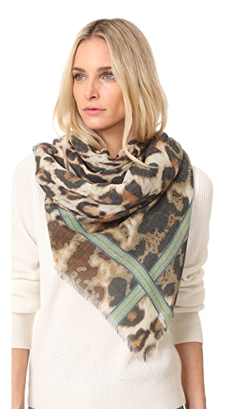 Franco Ferrari Tarth Scarf - Animal Print