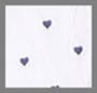 Blue Stripe/Mini Navy Hearts