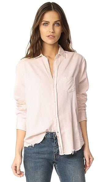 Frank & Eileen Eileen Shirt - Stonewash Light Pink
