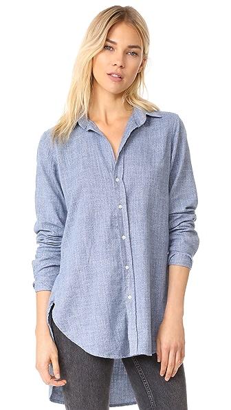 Frank & Eileen Grayson Button Down Shirt - Blue