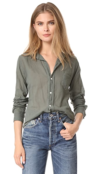 Frank & Eileen Barry Button Down Blouse