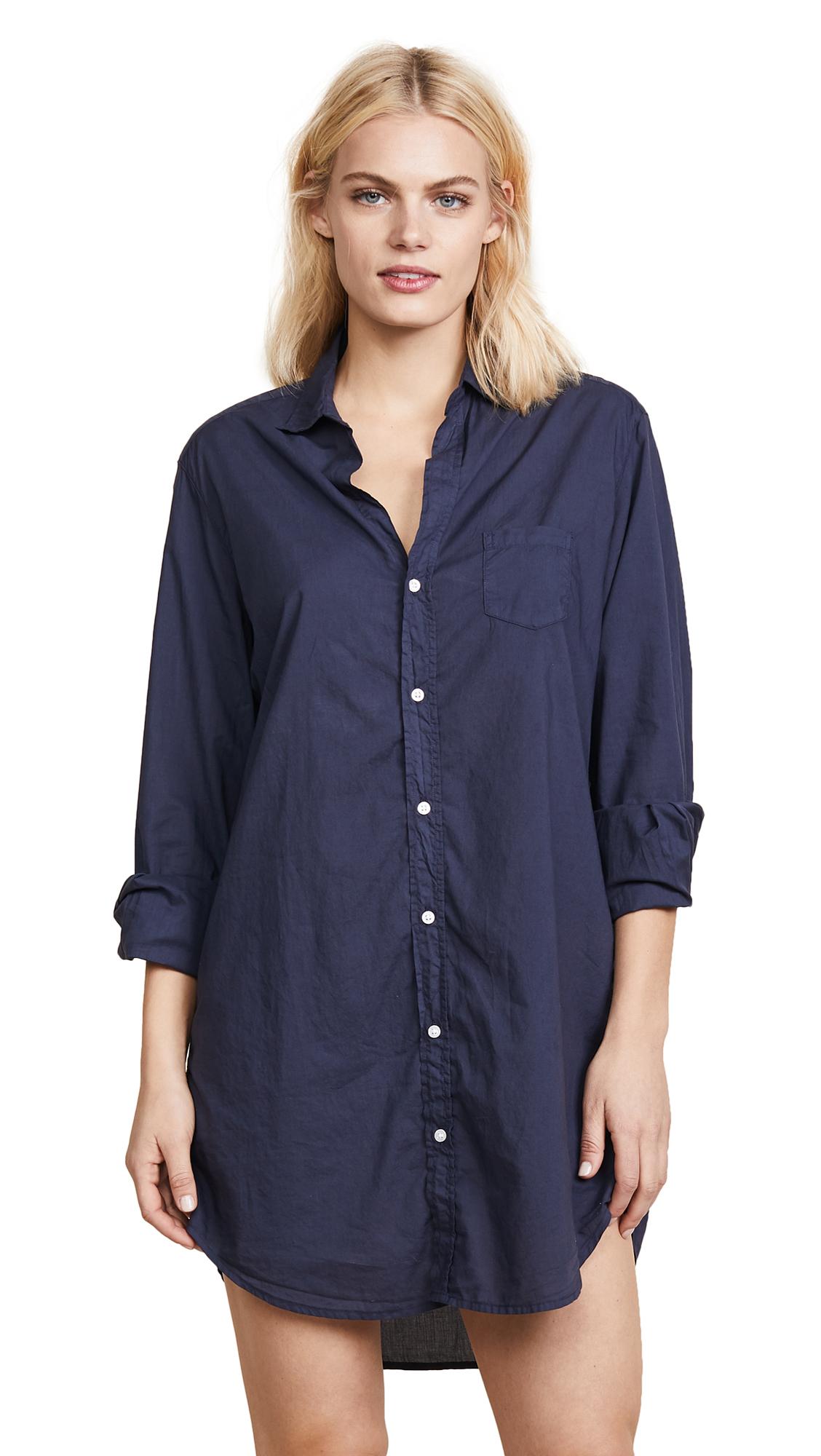 Frank Eileen Mary Shirtdress Navy Modesens