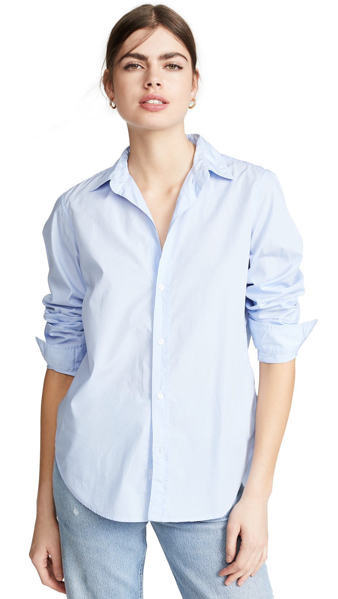 Frank & Eileen Frank Button Down - Soft Blue
