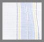 Wide Blue/White Stripe