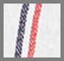 Navy/Red/White Stripe