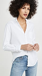 Frank & Eileen Eileen Tattered Denim Shirt