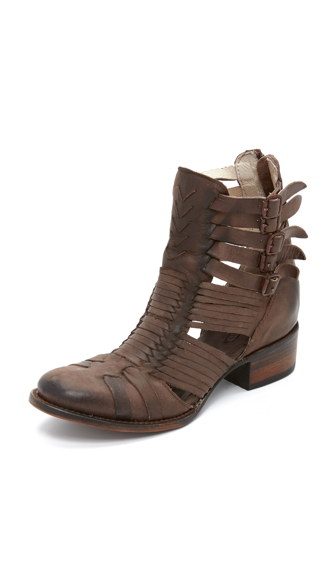 Freebird By Steven Sally Booties - Brown