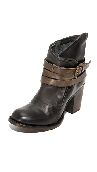 FREEBIRD by Steven Blaze Booties - Black