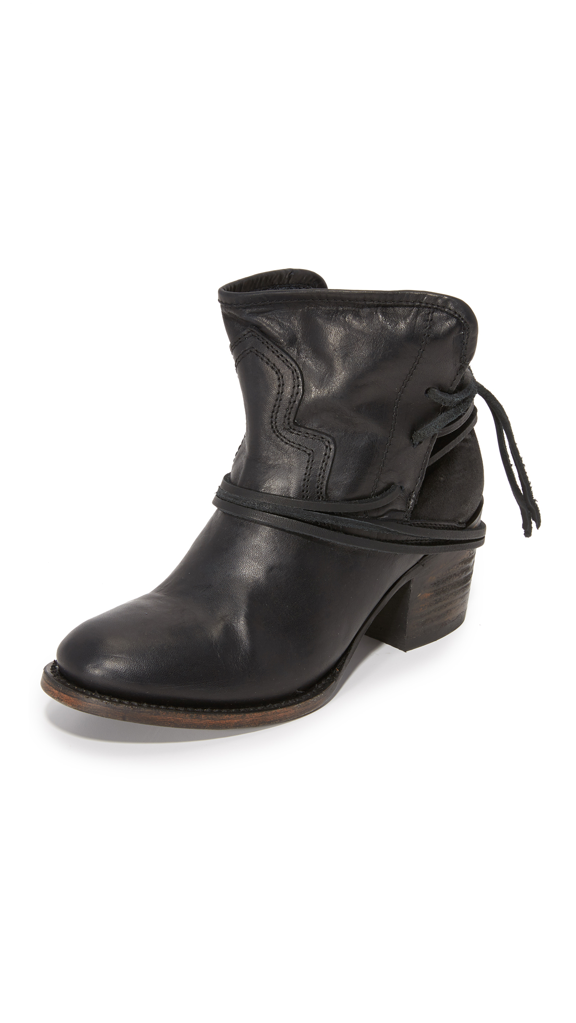 Freebird By Steven Casey Booties - Black