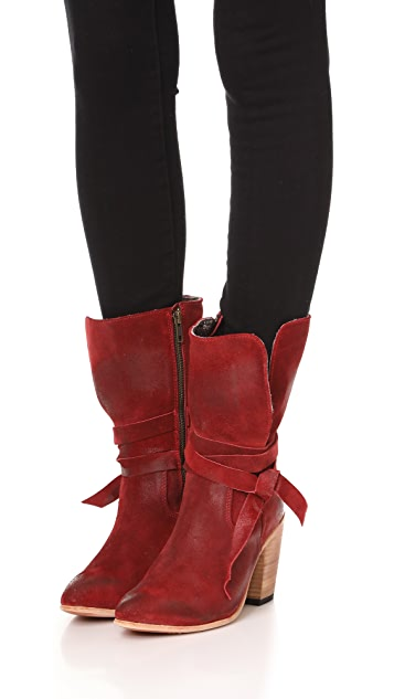 FREEBIRD by Steven Riot Suede Booties