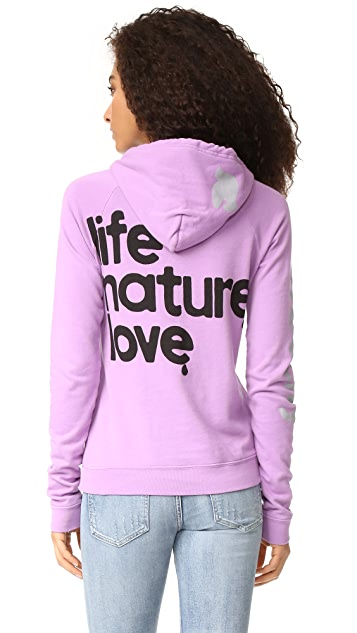 FREECITY Life Nature Love Pullover Hoodie