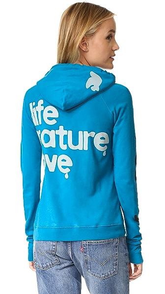 FREECITY Пуловер с капюшоном Life Nature Love