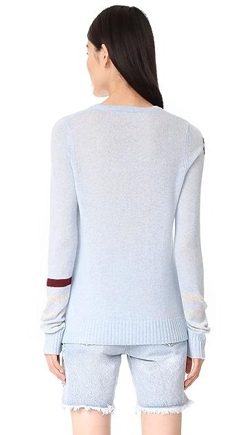 FREECITY Strike Sleeve Cashmere Sweater