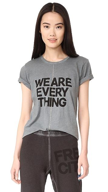 FREECITY We Are Everything Short Sleeve T-Shirt