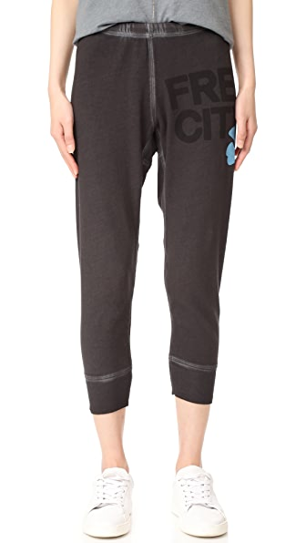 FREECITY FREECITY 3/4 Sweatpants - Crater