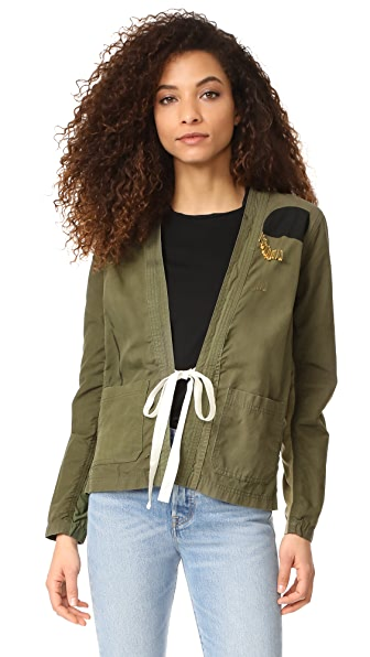 FREECITY Guia Jacket In Tent Green