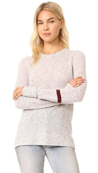 FREECITY Cashmere Crew Neck Sweater - Whitespace