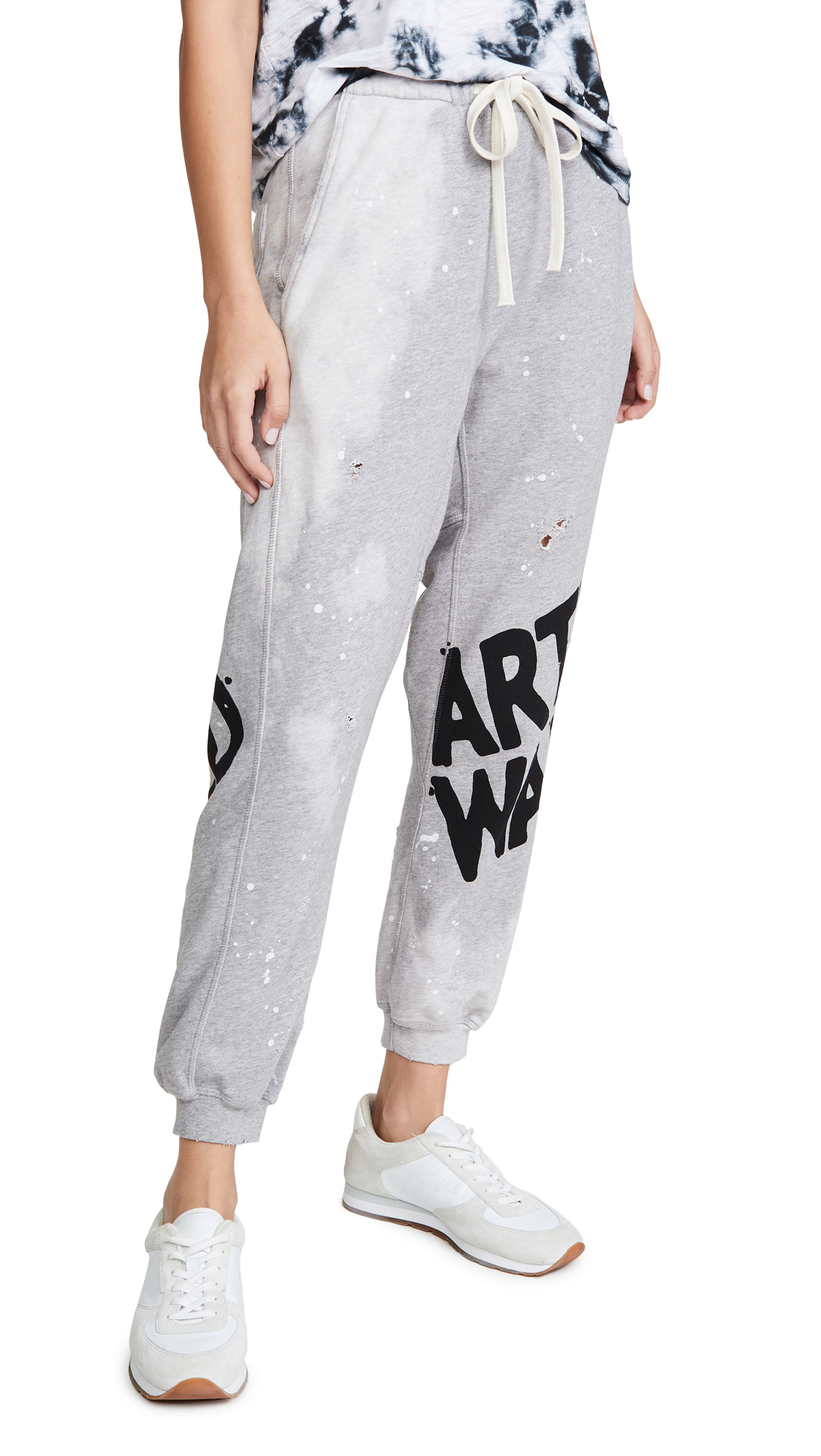 Buy FREECITY online - photo of FREECITY Destroy Splash Pocket Sweatpants