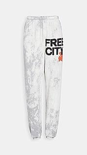 FREECITY Superbleachout OG 运动裤