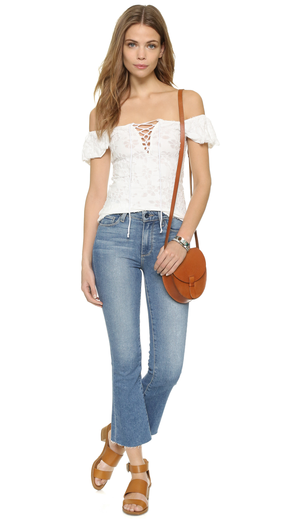 3f2056b8e3f76 Free People Popsicle Off Shoulder Top