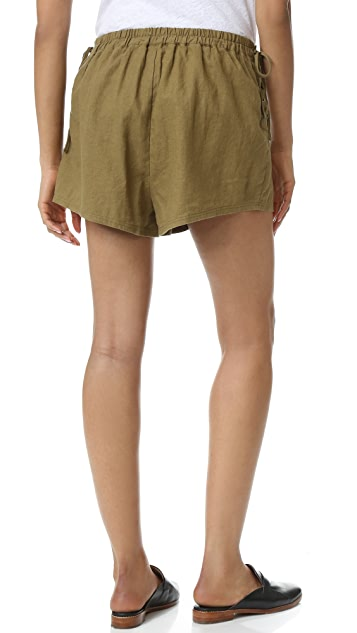 Free People Silver Springs Shorts