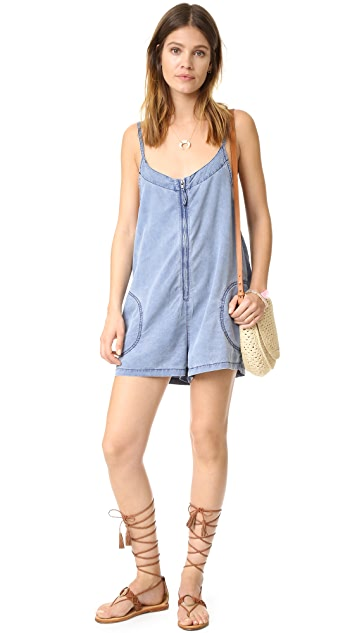 Free People Wainwright Romper