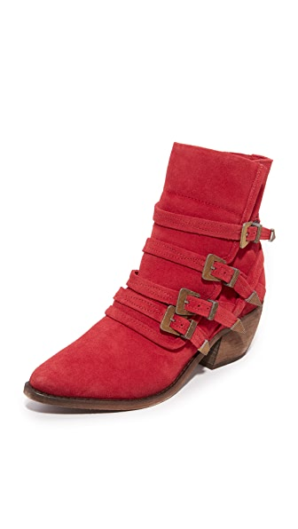 Free People Mason Western Booties