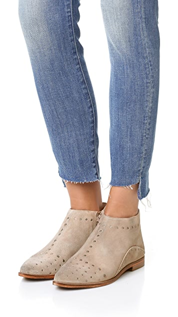 Free People Aquarian Studded Ankle Booties