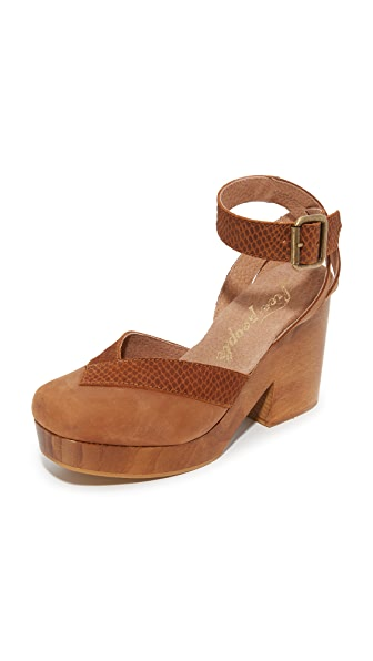 Free People Walk This Way Clogs - Brown at Shopbop