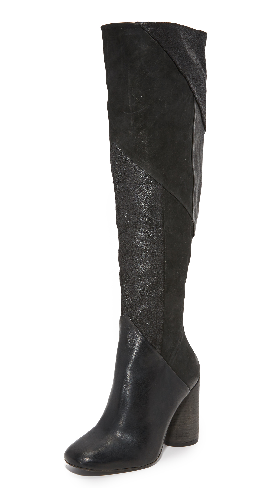 Free People Bright Lights Boots - Black