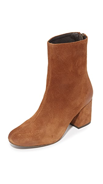 Free People Cecile Ankle Booties - Brown