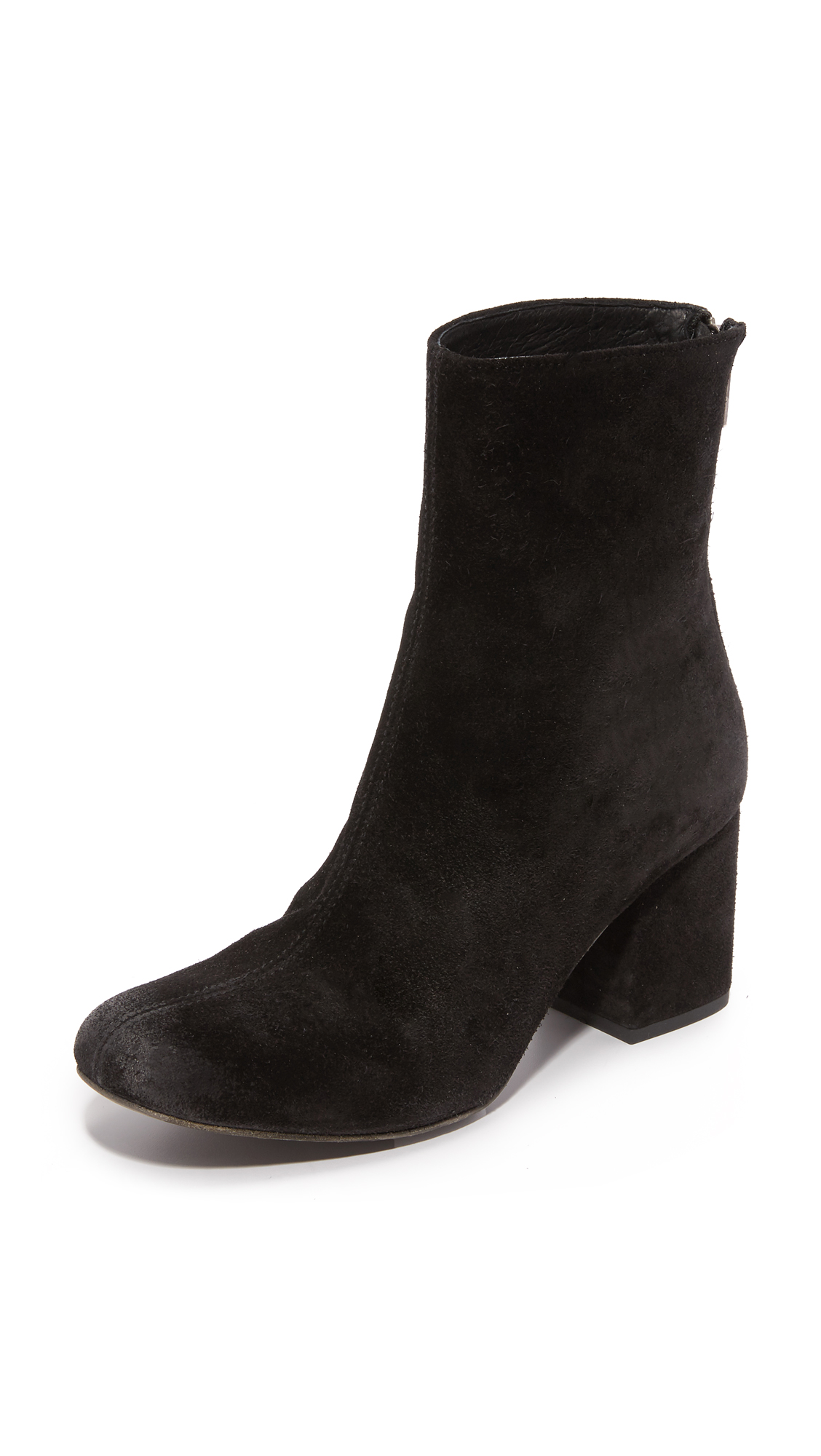 Free People Cecile Ankle Booties - Black