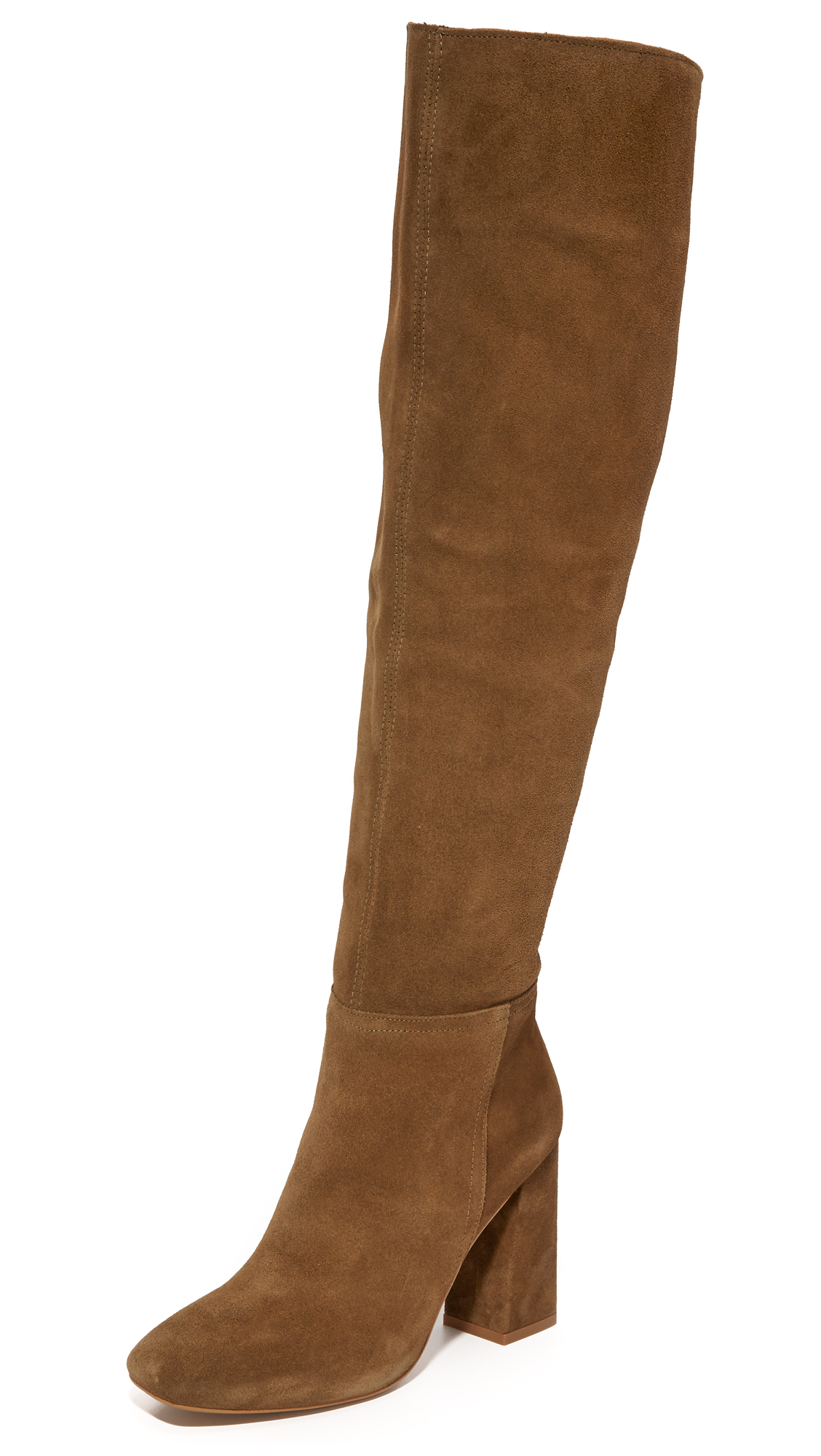 Free People Liberty Over The Knee Boots - Taupe