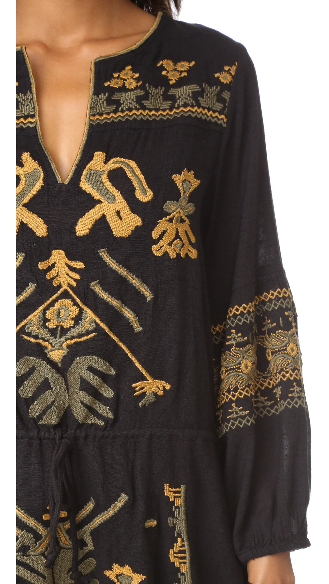 ef0610f52e37 Free People Anouk Embroidered Mini Dress | SHOPBOP