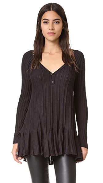 Free People Ribs Sweater