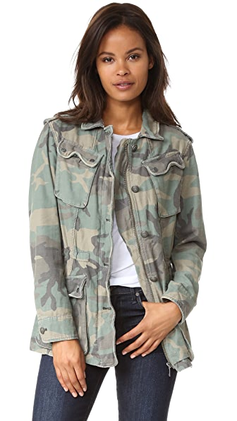 Free People Not Your Brothers Jacket - Camo