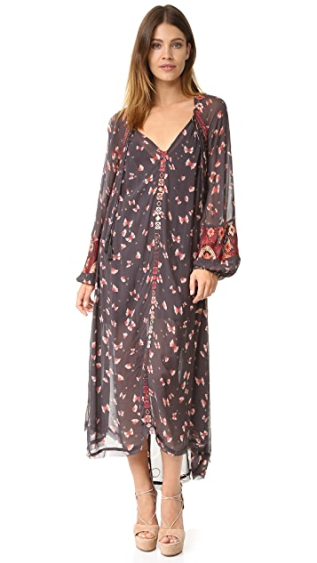 Free People Viceroy Printed Maxi Dress