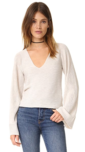 Free People Starman Pullover Sweater