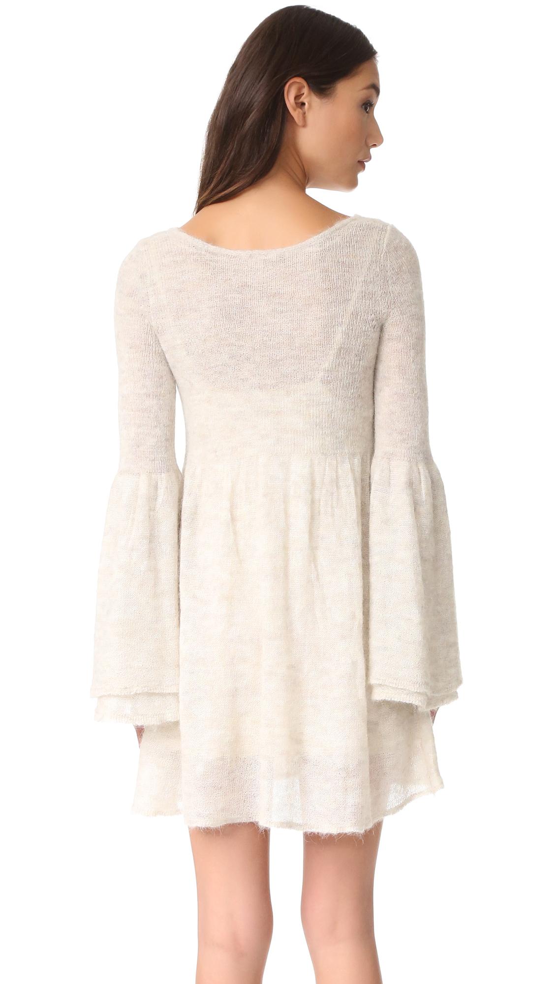 a40e418af36485 Free People Juliet Babydoll Sweater Dress