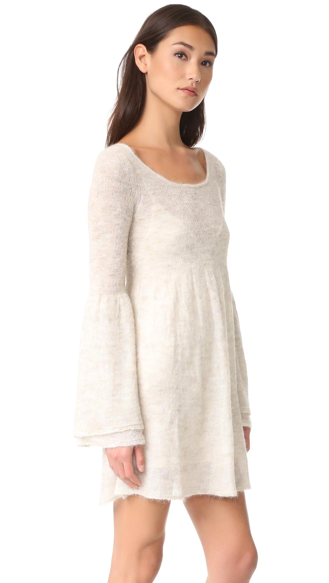 8f150b34dce3 Free People Juliet Babydoll Sweater Dress