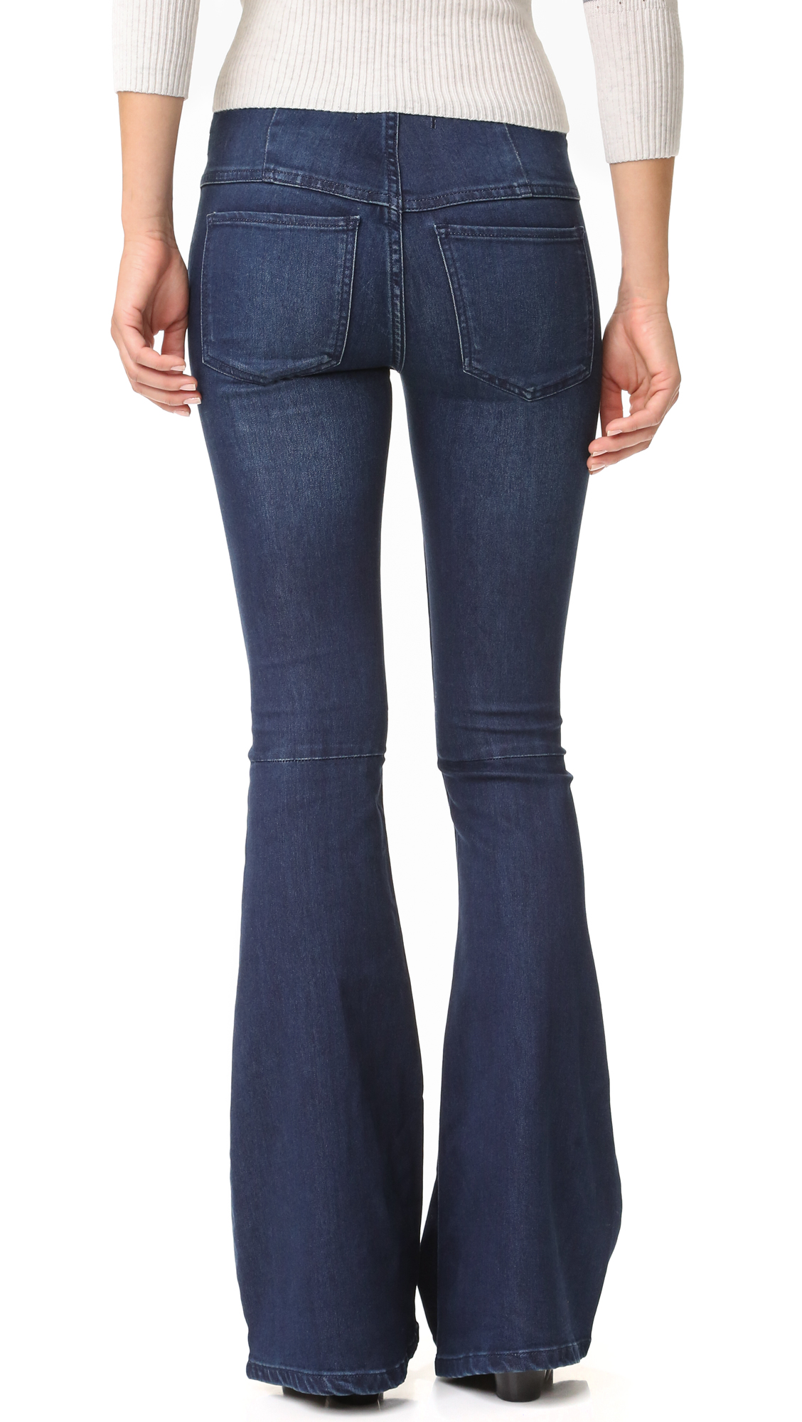 dirt cheap Super discount limited quantity Free People Gummy Denim Penny Pull On Flares   SHOPBOP