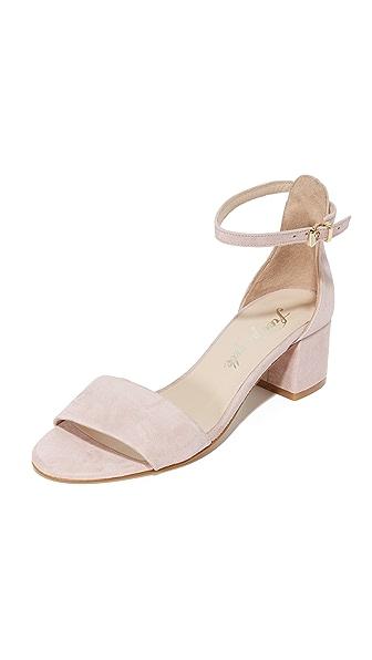 Free People Marigold Block Heel Sandals - Mauve