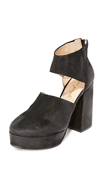 Free People Luxor Platform Heels - Black at Shopbop
