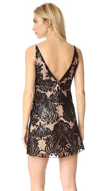 Free People Night Shimmer Mini Dress
