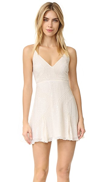 Free People Sparklette Mini Dress