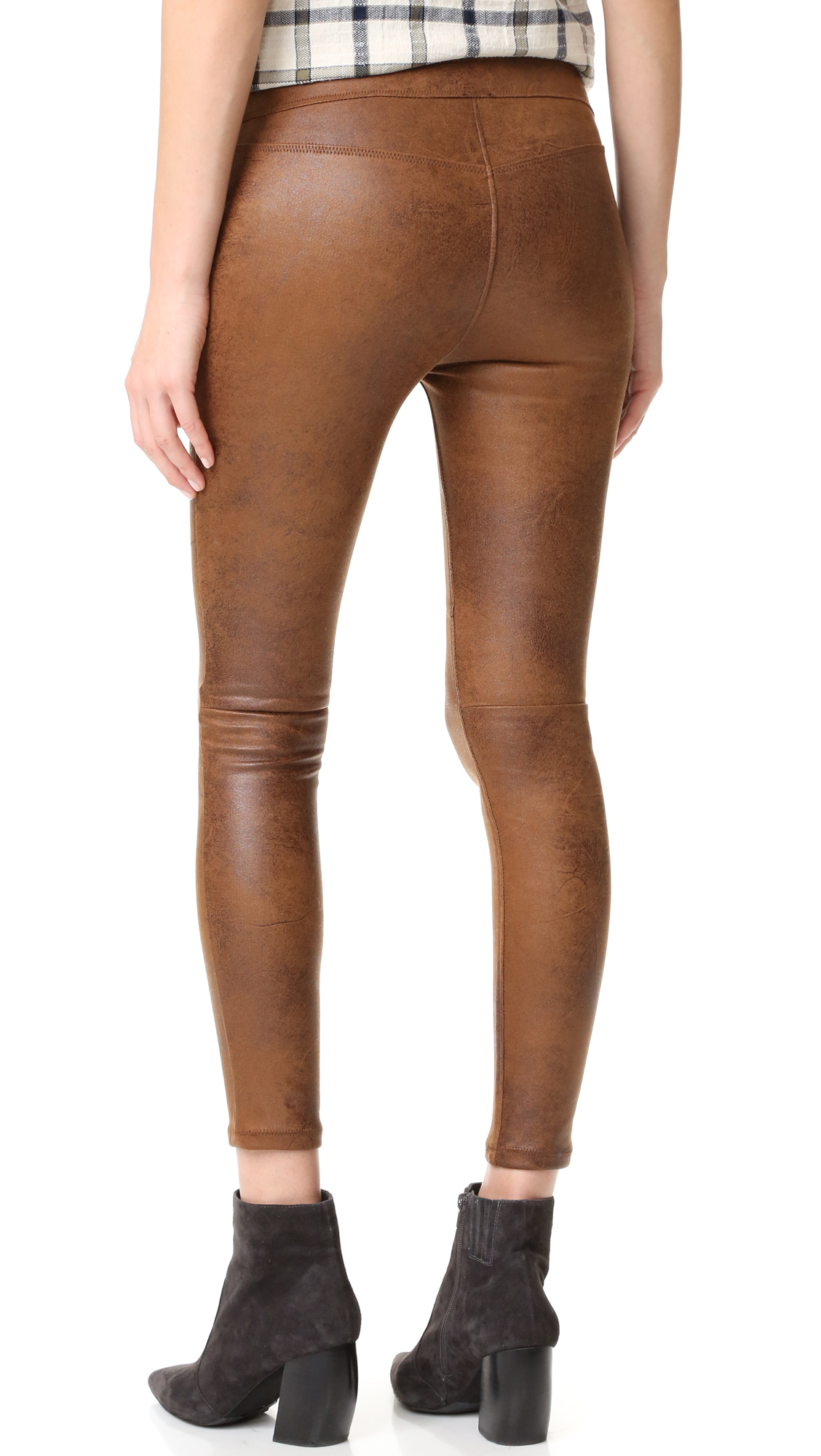 f0febf55c6e6c2 Free People Faux Leather Never Let Go Leggings | SHOPBOP