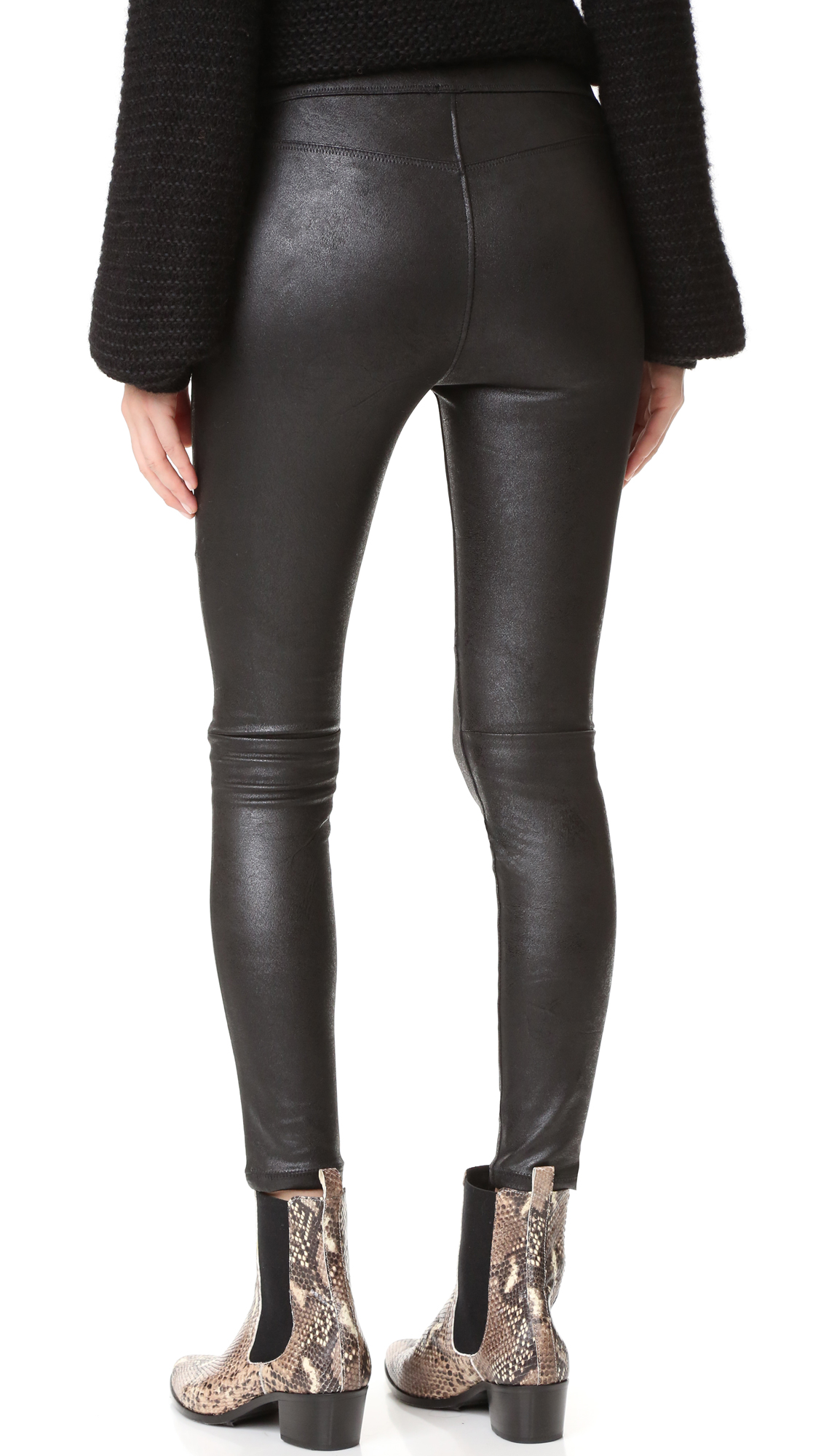 62f7130286ae2 Free People Faux Leather Never Let Go Leggings | SHOPBOP
