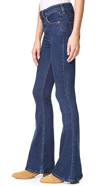 Free People Cindi High Rise Flare Jeans